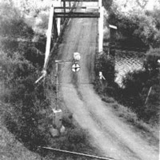 Old Largo Bridge over Russian River