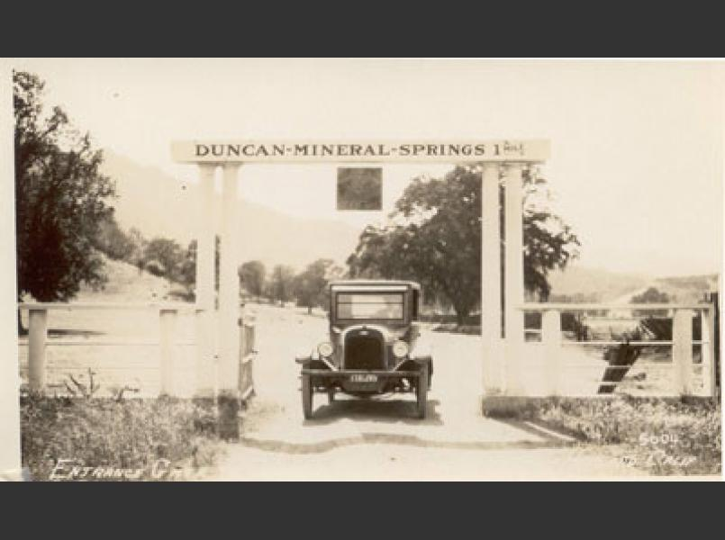 Duncan Springs was a resort starting in the 1880s.