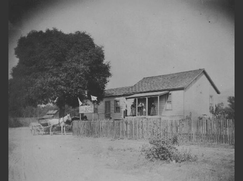 Guidi's bar and store in Talmage, year unknown