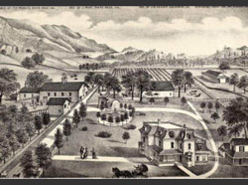 Knights Valley in the late 1800's