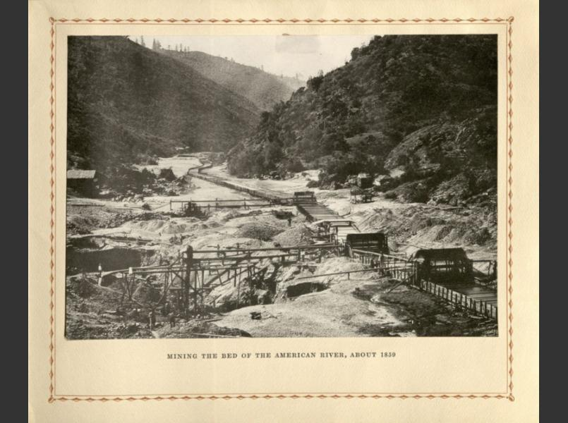 Mining the American River