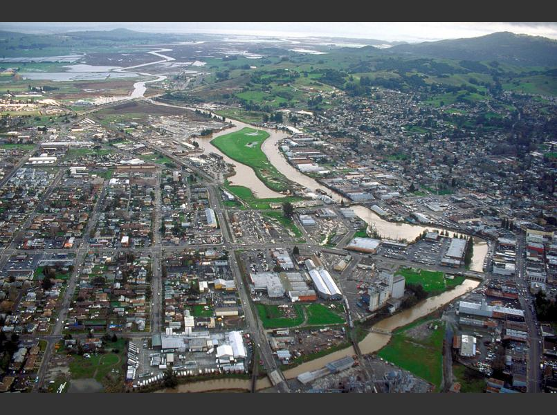 Modern Day Petaluma River