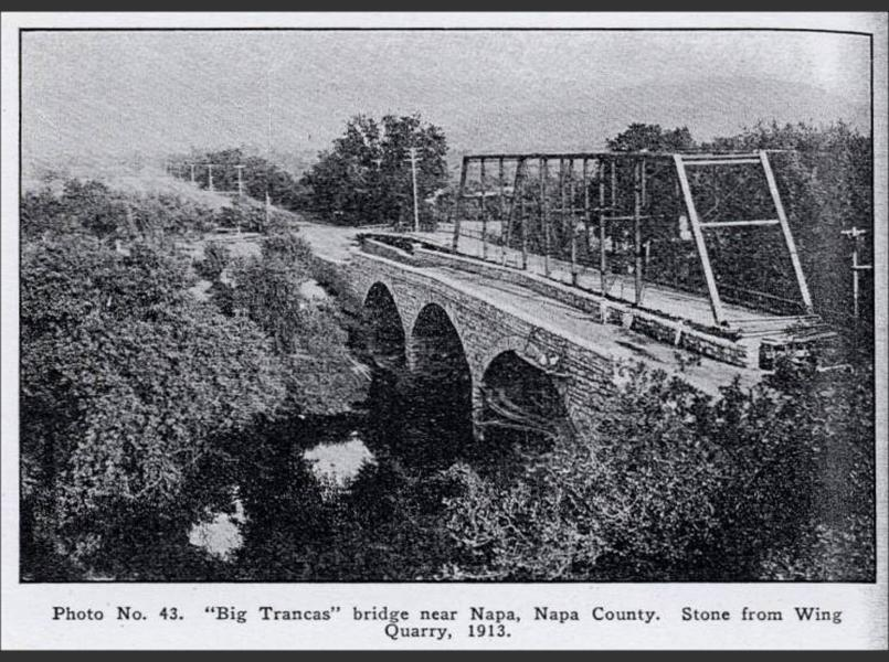 Original Trancas Ave. bridge