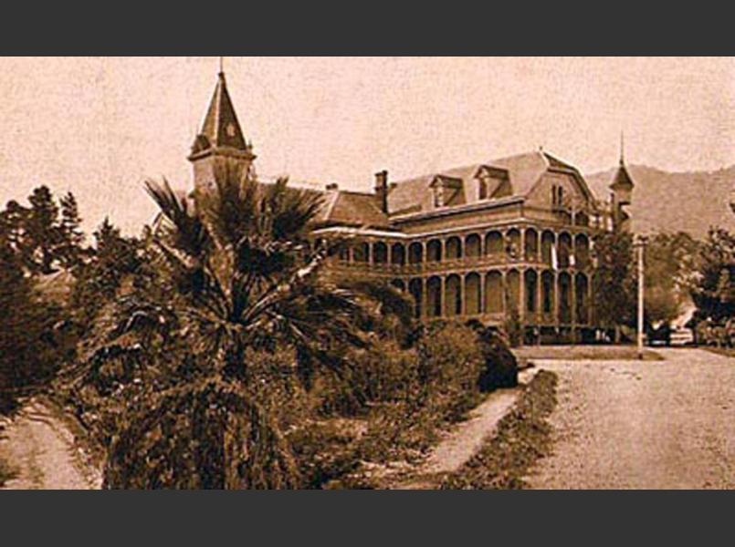 The Yountville Veterans' Home was completed circa 1883