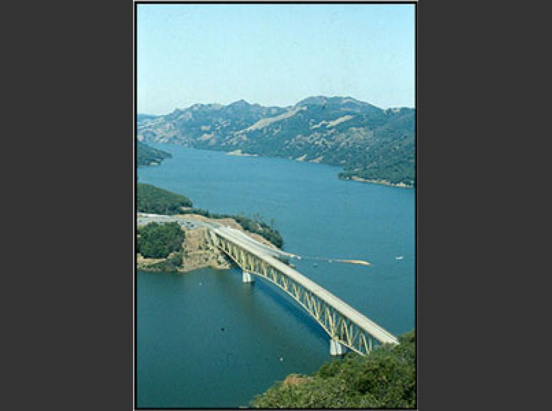 Warm Springs Dam created Lake Sonoma.