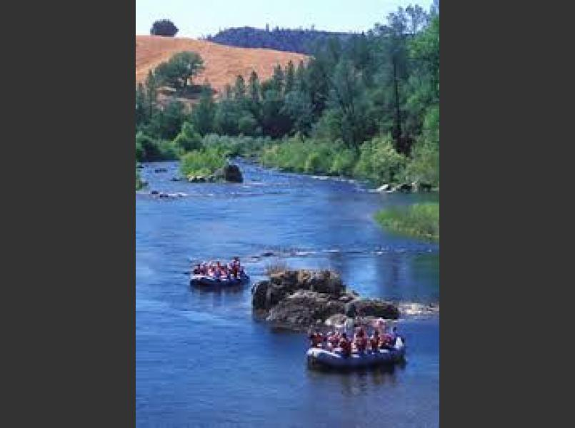 Whitewater rafting on the South Fork American River