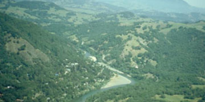 Lower Russian River Canyon